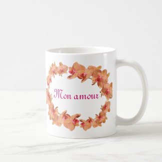 Beautiful orchids coffee mug
