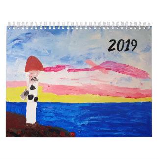 Beautiful Original Artwork - Calendar