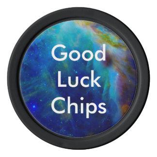 Beautiful Orion Nebula Poker Chips Set