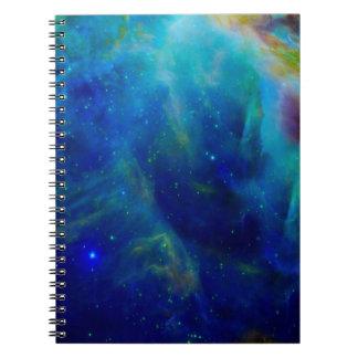 Beautiful Orion Nebula Spiral Notebook