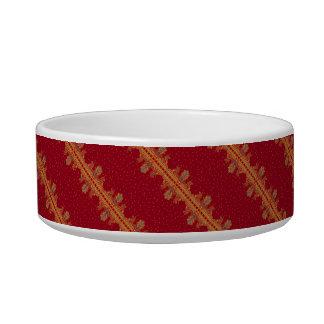 Beautiful ornate border paisley traditional style bowl