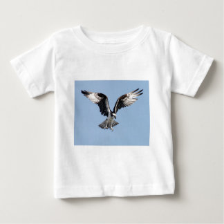 Beautiful Osprey bird Searching for prey Baby T-Shirt