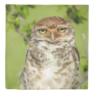 Owl Close Up Duvet Cover