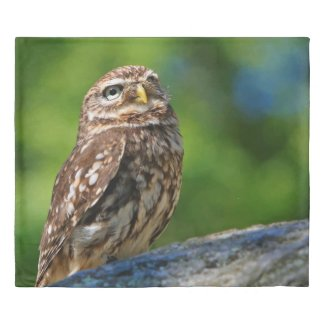 Owl Print Duvet Cover