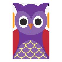 Beautiful Owl Stationery