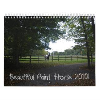 Beautiful Paint Horse 2010 Calendar