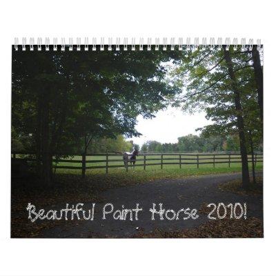 Beautiful Paint Horse 2010! Calendar