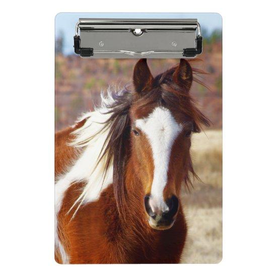 Beautiful Paint Horse Mini Clipboard