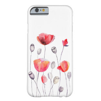 Beautiful Painted Flowers Girly iPhone 6 Case