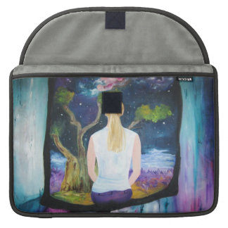 Beautiful Painting of a Dream MacBook Pro Sleeves