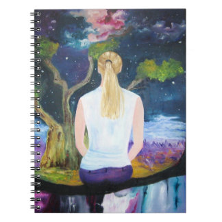 Beautiful Painting of a Dream Notebook