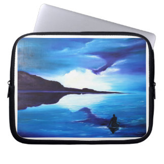 Beautiful Painting of Sea and Ocean Laptop Computer Sleeve