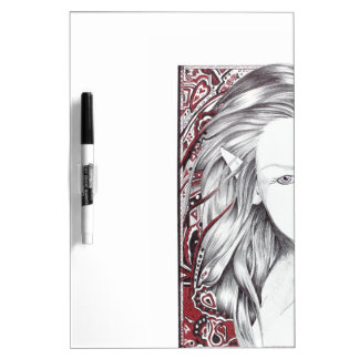 Beautiful Paisley Female Elf Dry-Erase Board
