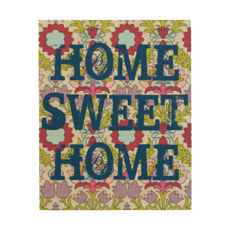Beautiful Paisley Home Sweet Home Wooden Decor