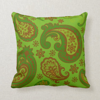 Burgundy Green Throw Pillows : Lime Green And Brown Pillows - Decorative & Throw Pillows Zazzle