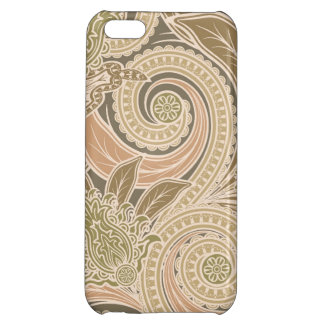 Beautiful paisley pattern iPhone 5C cover
