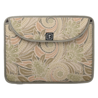 Beautiful paisley pattern sleeve for MacBook pro