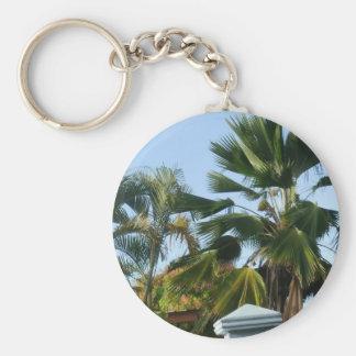 Beautiful Palms Keychain