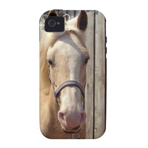 Beautiful Palomino Yellow Horse Case-Mate iPhone 4 Covers
