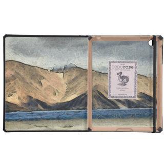 Beautiful Pangong Tso lake in Himalayas.jpg Case For iPad