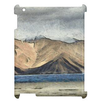 Beautiful Pangong Tso lake in Himalayas.jpg iPad Case