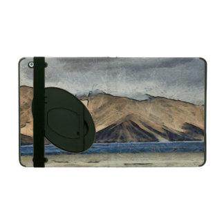 Beautiful Pangong Tso lake in Himalayas.jpg iPad Folio Cases