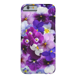Beautiful Pansies Spring Flowers iPhone Case