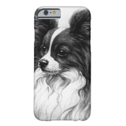 Beautiful Papillon Dog  I Phone 6 Phone Case