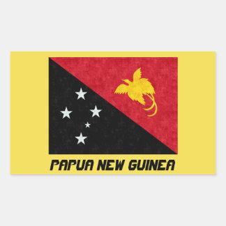 Beautiful Papua New Guinea Flag Sticker