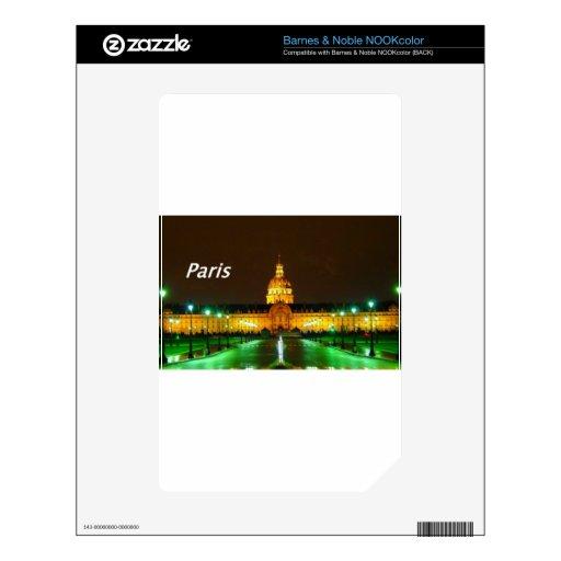 Beautiful-Paris-France-.kan NOOK Color Calcomanías