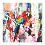 Beautiful Parrot Canvas Print