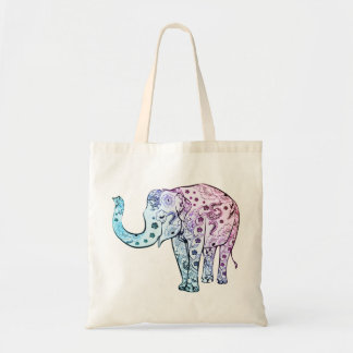 Beautiful Pastel Elephant Bag