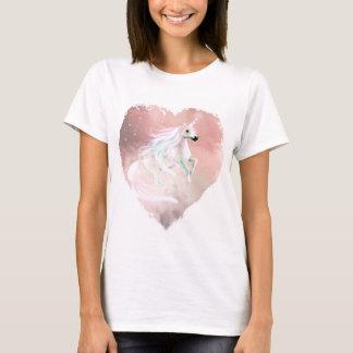 Beautiful pastel Unicorn in a heart T-Shirt