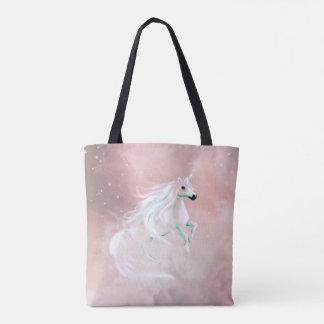 Beautiful pastel unicorn tote bag
