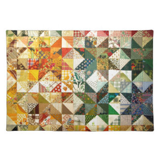 Beautiful Patchwork Cloth Placemat