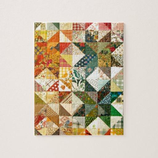Beautiful Patchwork Jigsaw Puzzle