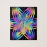 Beautiful pattern of titanium colors - jigsaw puzzle