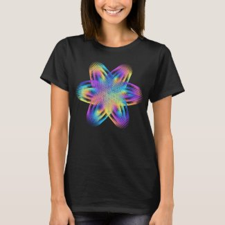 Beautiful pattern of titanium colors - T-Shirt