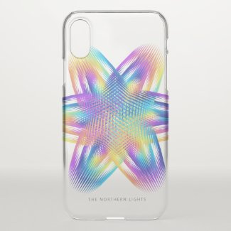 Beautiful pattern of titanium colors - iPhone x case