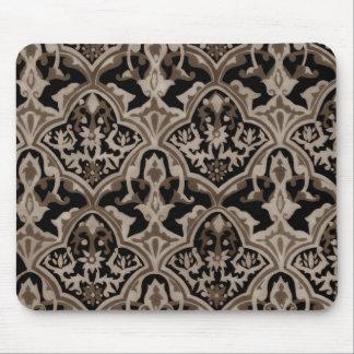 Beautiful pattern Sepia Mouse Pad