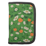 Beautiful Peach and Floral Folio Planner