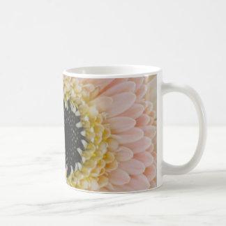 Beautiful Peach/Cream Gerber Coffee Mug