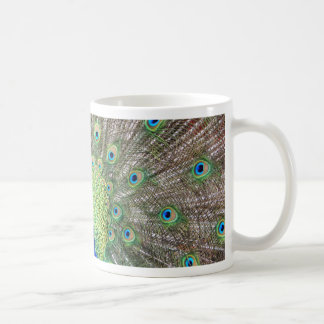 Beautiful Peacock Classic White Coffee Mug