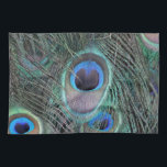 """Beautiful Peacock Feathers Towel<br><div class=""""desc"""">Peacock Feathers  With Big Peacock Eyes</div>"""