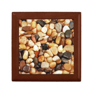 Beautiful pebble pattern gift box