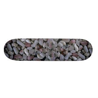 Beautiful Pebbles from Coromandel, New Zealand Skateboard