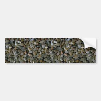 Beautiful Pebbles from Desert Isle, Arcadia, N.P., Car Bumper Sticker
