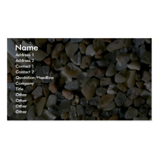 Beautiful Pebbles from Desert Isle, Arcadia, N.P., Double-Sided Standard Business Cards (Pack Of 100)