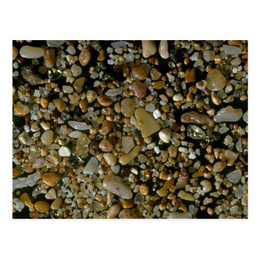 Beautiful Pebbles from Isla Bartholome, Galapagos Postcard