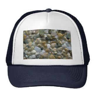 Beautiful Pebbles from Kee-Haena, Kauai Trucker Hat